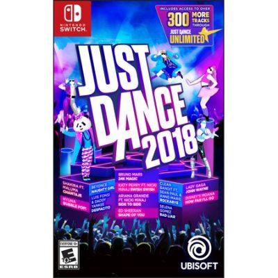Walmart – Just Dance 2018 Ubisoft Nintendo Switch Only $32.40 (Reg $59.88) + Free Store Pickup
