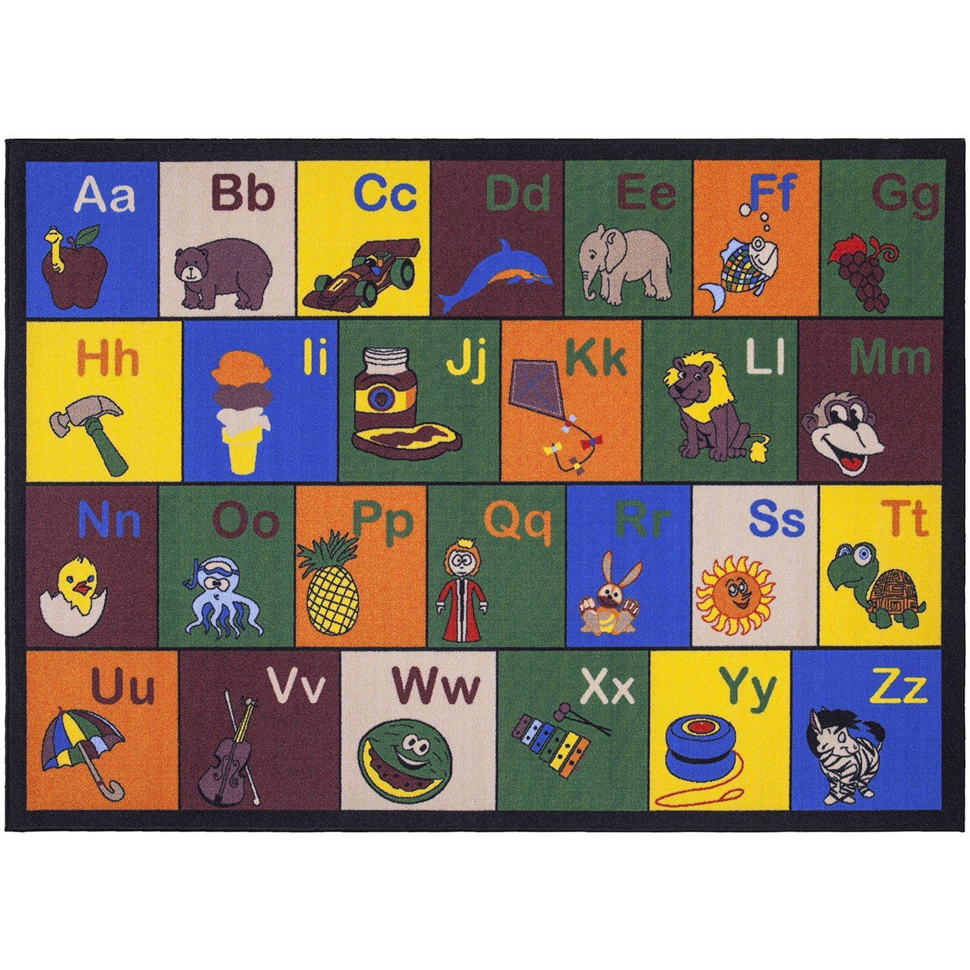 Walmart – Ottomanson Jenny Educational Alphabet with Pictures Non-Slip Classroom For Kids' Area Rugs Only $26.25 (Reg $35.00)+ Free Store Pickup
