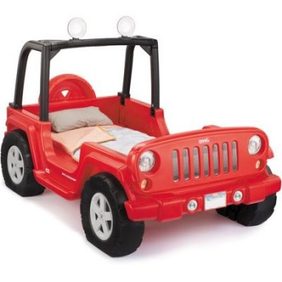 Walmart – Little Tikes Jeep Wrangler Toddler to Twin Convertible Bed Only $349.99 (Reg $399.00) + Free Store Pickup