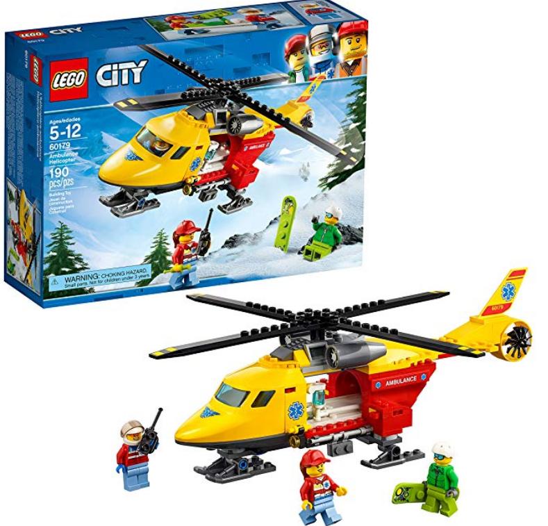 Amazon – LEGO City Ambulance Helicopter Building Kit (190 Piece) Only $11.99, Reg $19.99!