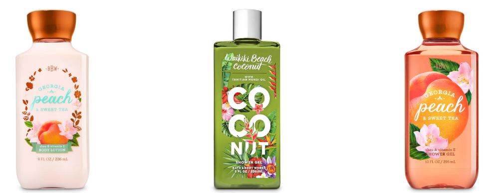 Bath & Body Works – Up To 75% Off Select Items = Full Size Body Lotions, Creams or Shower Gels Only $2.59 Each