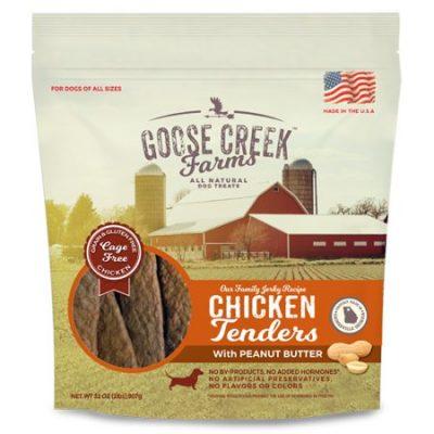 Walmart – Goose Creek Farms Chicken and Peanut Butter Tender Jerky Dog Treats Only $14.98 (Reg $17.94) + Free Store Pickup
