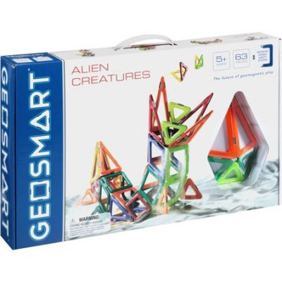Walmart – Geosmart Alien Creatures 63 piece Geometric Shape Building Set Only $59.14 (Reg $99.99) + Free 2-Day Shipping