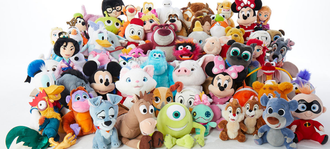 Disney Plush Characters Only $10, Reg $20 + FREE Personalization AND Free Shipping!
