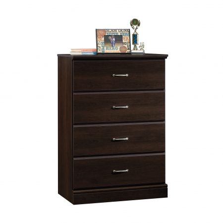 Walmart – Sauder Parklane Transitional 4-Drawer Chest Espresso Finish Only $89.99 (Reg $99.00) + Free Shipping