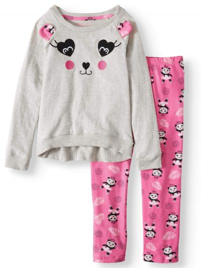Walmart – Colette Lilly Embroidered Panda Tunic and Printed Legging Only $5.00 (Reg $15.88) + Free Store Pickup
