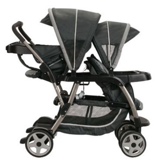 Walmart.com – Graco Ready2Grow Click Connect LX Double Stroller Only $147.23, Reg $219.99 + Free Shipping!