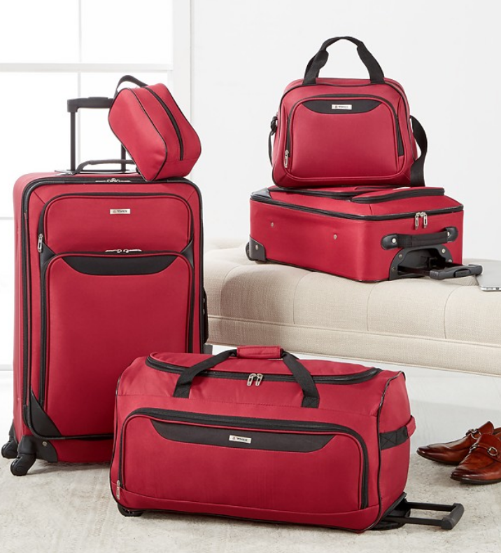 Macy's.com – Tag Springfield III 5 Piece Luggage Set Only $59.99, Reg $240.00 + Free Store Pickup!