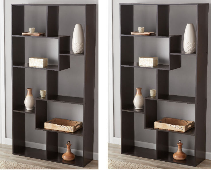Walmart.com – Set of TWO Mainstays Home 8-Shelf Bookcases Only $79, Reg $159.60 + Free Shipping!