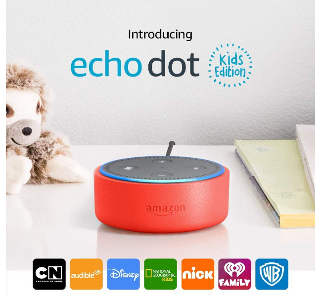 Amazon Echo Dot Kids Edition Only $34.99, Reg $70 + Free Shipping!