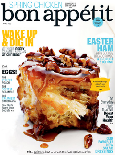 Bon Appetit Magazine Yearly Subscription Only $4.99, reg $15.00 + Free Shipping!