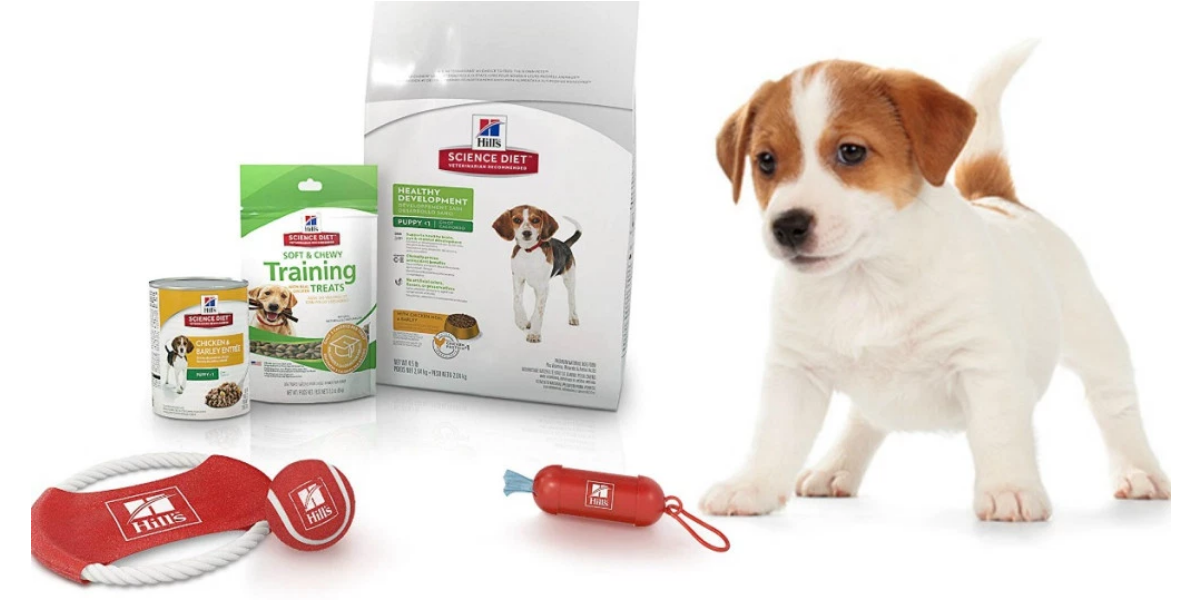 Amazon – Hill's Science Diet Puppy Food, Treats & Toys Bundle Only $8.99, Regularly $25