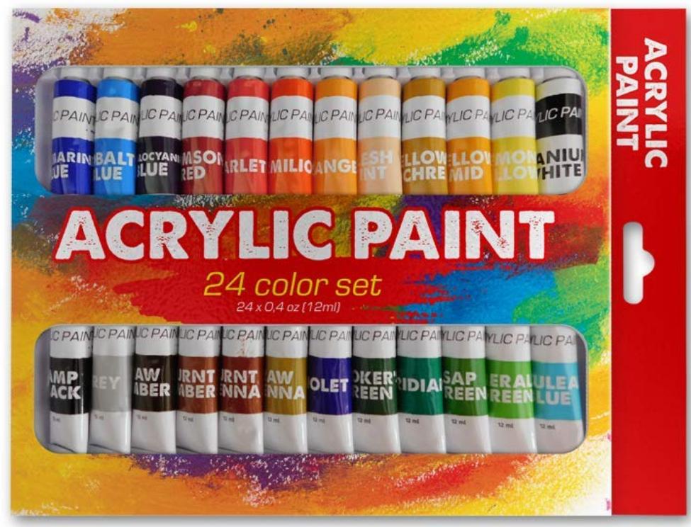 FREE Acrylic Paint Set