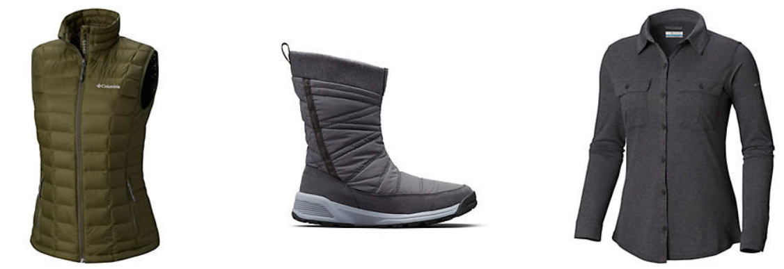 Columbia.com – Up to 65% Off Vests AND Boots + Free Shipping!