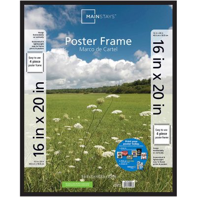 Walmart – Mainstays 16×20 Basic Poster and Picture Frame Only $3.99 (Reg $6.62) + Free Store Pickup