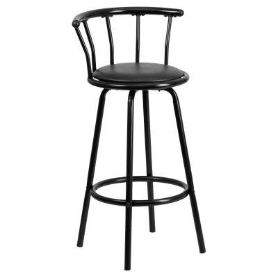 Walmart – Flash Furniture Crown Back Black Metal Bar Stool Only $29.90 (Reg $33.15) + Free Store Pickup