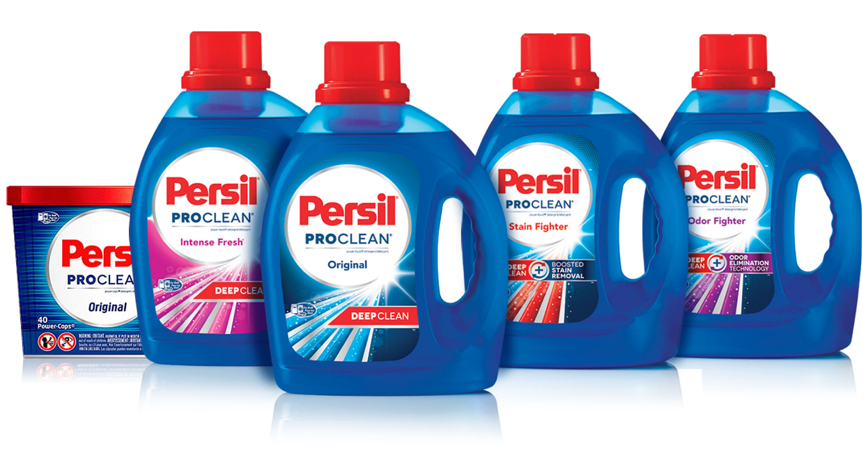 Walmart – Persil 40 oz or Power-Caps 16 ct Laundry Detergent Only 24¢