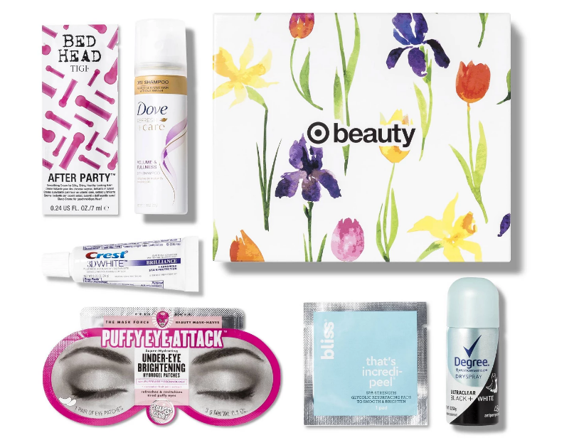 Target April Beauty Box Only $7 + Free Shipping!