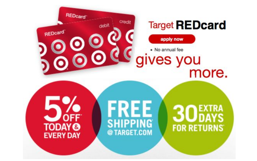 Sign Up For A Target Redcard And Receive A $35 off a $70 Purchase Coupon