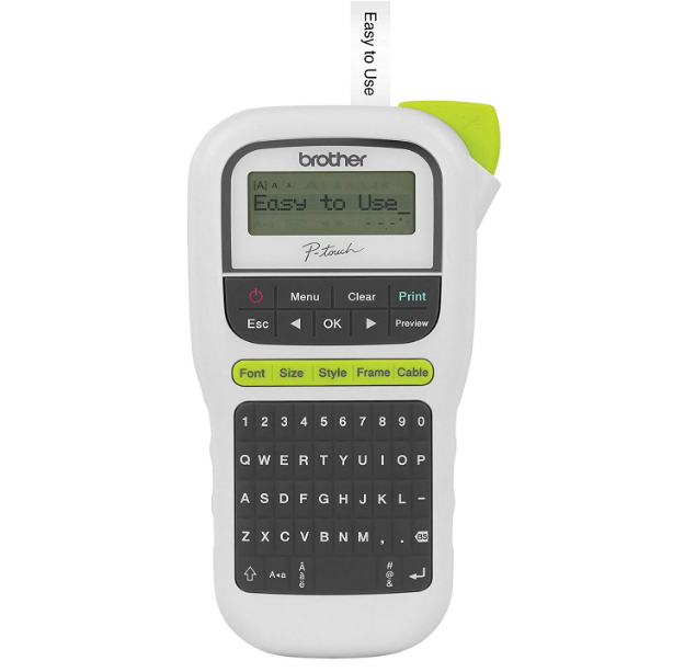 Amazon – Brother PT-H110 Easy Handheld Label Maker Only $9.99, Reg $29.99