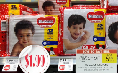 Publix Upcoming Deal (5/22-5/28) Huggies Snug & Dry Diapers Only $1.99 each!