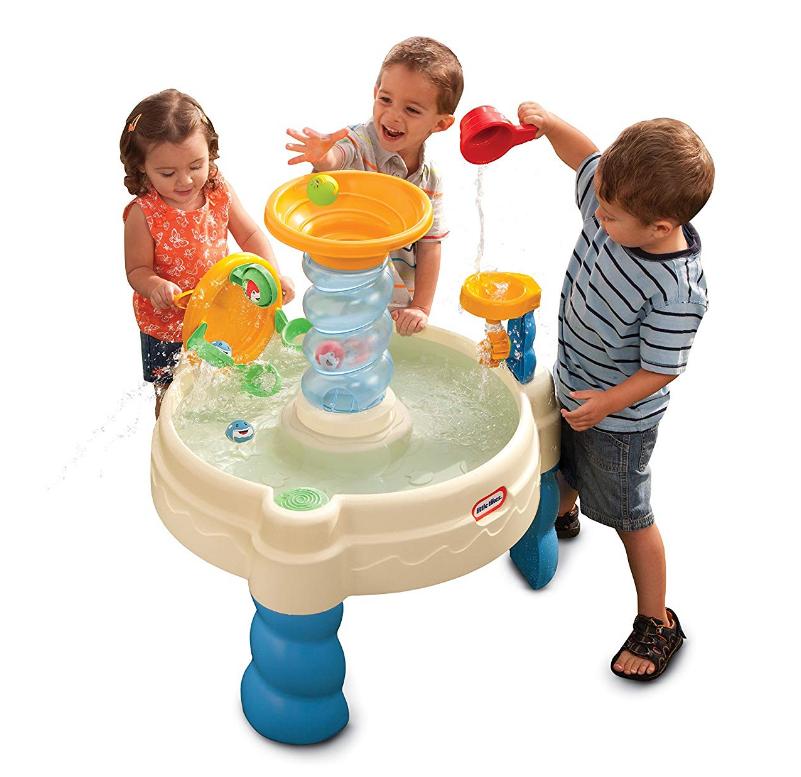 Amazon – Little Tikes Spiralin' Seas Waterpark Play Table Only $29.99, Reg $44.99 + Free Shipping!