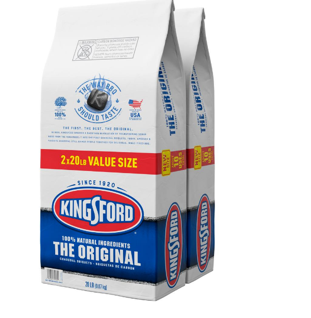 Home Depot OR Lowes- (2 Pack) 20-lbs. Kingsford Original Charcoal Briquettes (40-lb. total) $12.90 + Free Store Pickup!