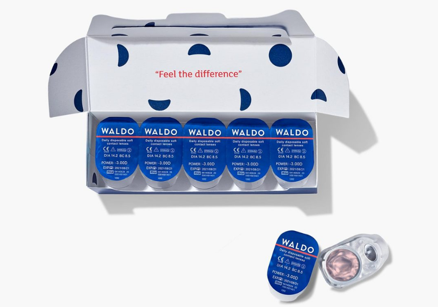Get 10 Pairs of Premium Daily Contact Lenses for FREE! Just Pay $2.95 Shipping and Handling!