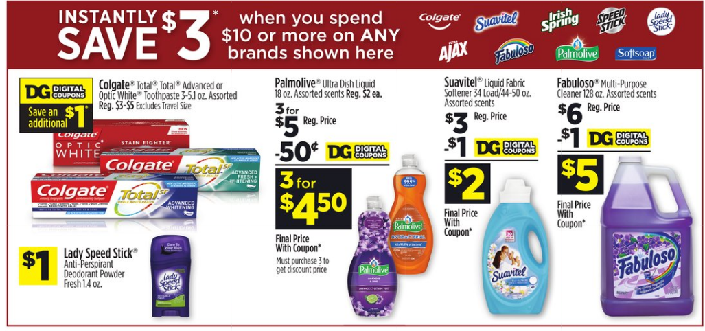 Dollar General – 4 (3 packs) of Colgate Toothbrushes FREE After Coupons and Instant Savings!