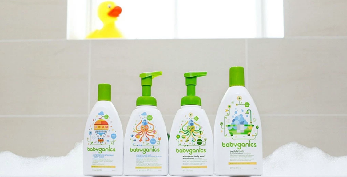 Amazon – 40% Off Babyganics Products With Coupon + Free Shipping!