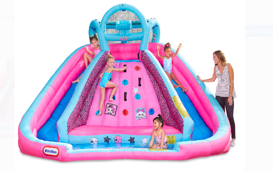 Walmart – L.O.L. Surprise! Inflatable River Race Water Slide with Blower Only $299.00, Reg $519.00 + Free Shipping!