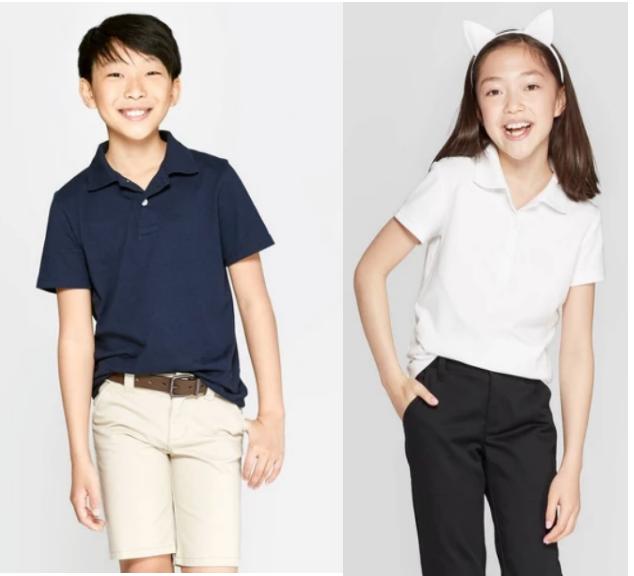 Target.com – Cat & Jack Kids Uniform Polos Only $2.80