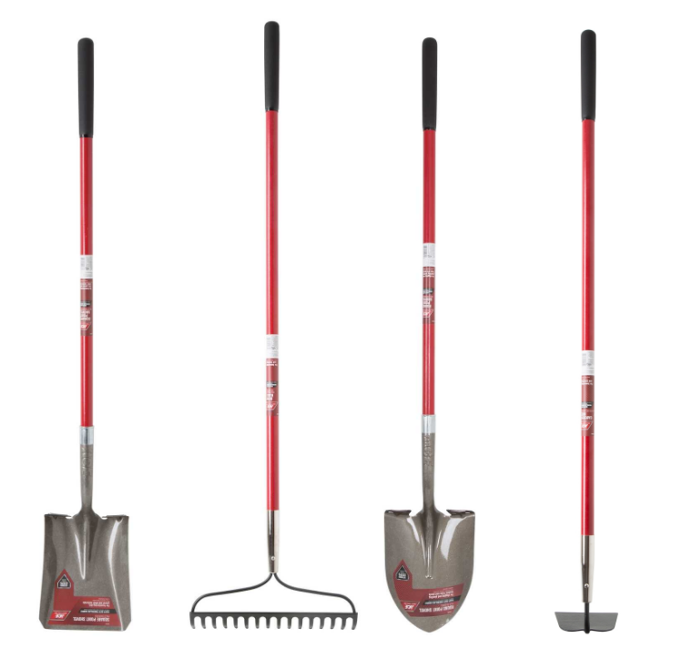 Ace Hardware – Garden Tools BOGO (Square or Round Point Shovel, Garden Hoe or Rake) 2/$22 + Free Store Pickup!