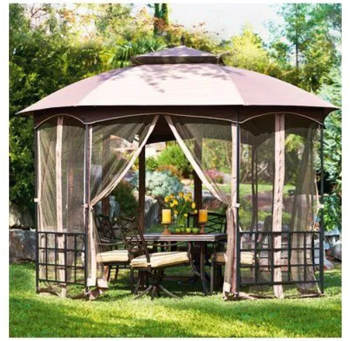 True Value – Catalina Octagon Gazebo With Canopy & Netting Only $170.00, Reg $350.00 + Free Shipping!