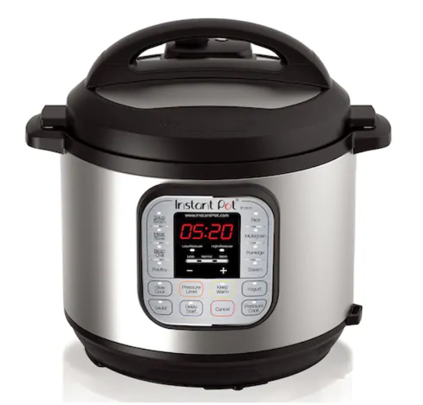 8-Quart Instant Pot Duo 7-In-1 Pressure Cooker Only $59.50, Reg $129.99 + Free Store Pickup + $10 Kohl's Cash