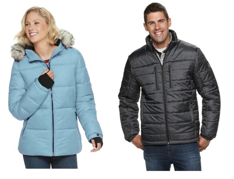 Kohls.com – Early Black Friday Access! Get Men's and Women's ZeroXposur Puffer Jackets $25.49, Reg $100 + Free Store Pickup!