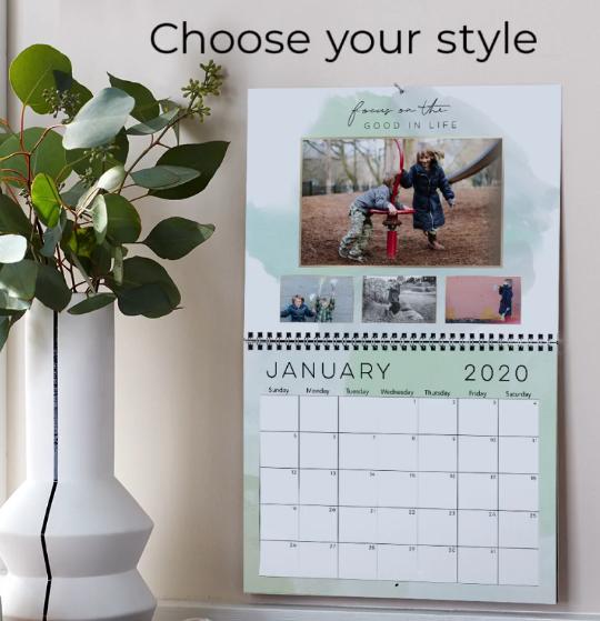 Shutterfly – Free 8×11 Wall Or Easel Calendar