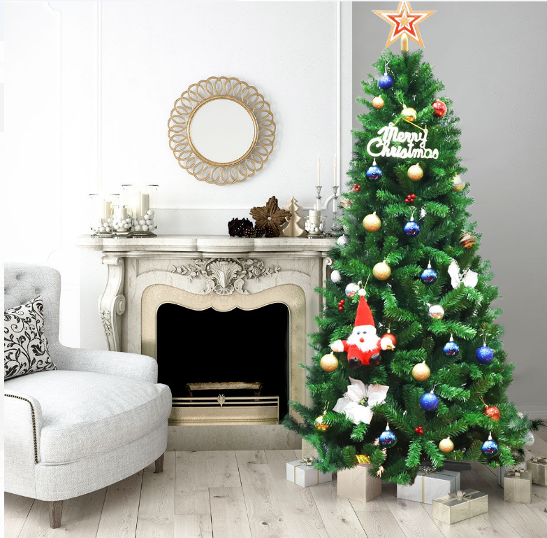 Walmart.com – Costway 7Ft PVC Christmas Tree Only $59.99, Reg $158.99 + Free Shipping!