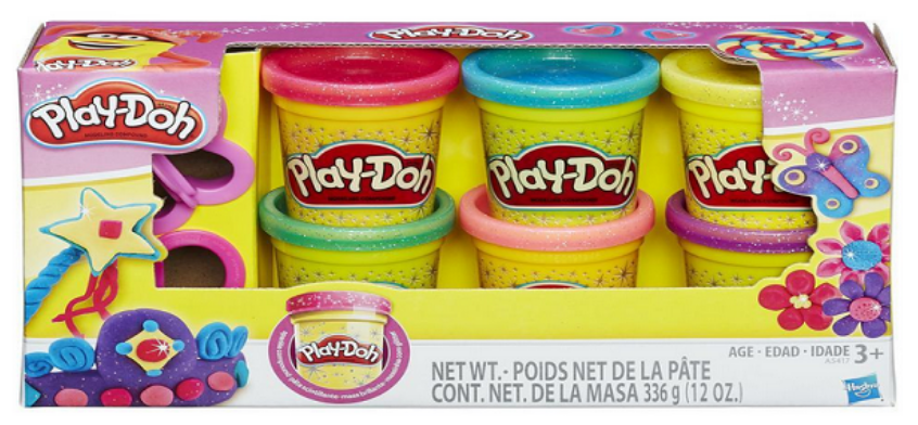 Amazon – Play-Doh Sparkle Compound Collection Only $4.04, Reg $9.99