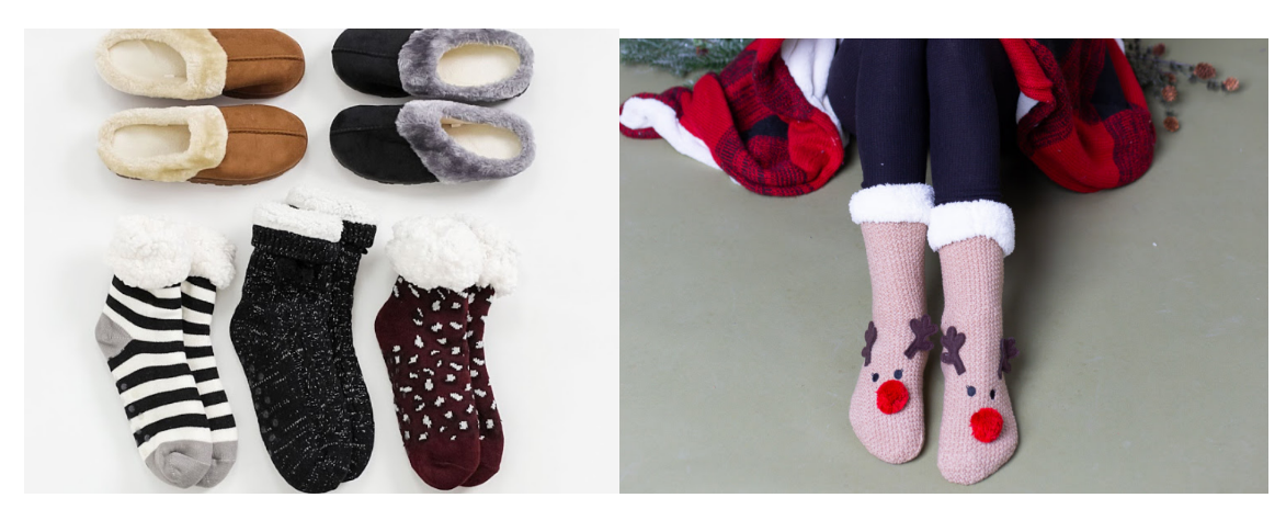 Mycentsofstyle.com – Holiday Slippers and Socks Buy 1 Get 1 FREE + FREE Shipping!