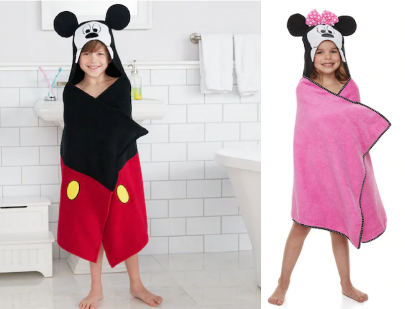 Kohl's – Disney & Jumping Beans Kids Bath Wraps Only $7.64, Reg $22 + Free Shipping!