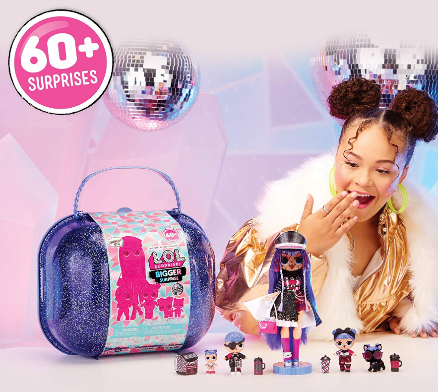 L.O.L. Surprise! (Amazon Exclusive) Winter Disco Bigger Surprise With O.M.G. Fashion Doll Only $79.99, Reg $89.99 + Free Shipping!