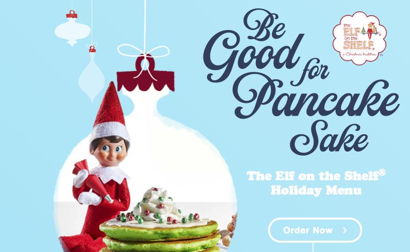 IHOP – Elf on a Shelf Holiday Menu is Now Live!! Kids Eat Free!!