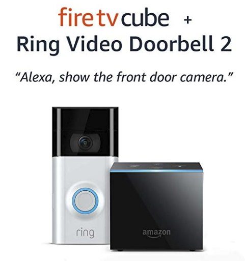 Amazon – Ring Doorbell 2 With A Fire TV Cube Only $218.99, Reg $318.99 (SAVE $100) + Free Shipping!