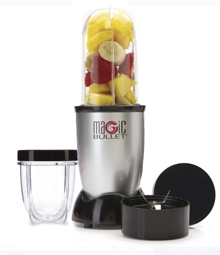 Walmart – Magic Bullet, 7-Piece, Silver Only $19.92 Reg $39.99 + Free Store Pickup!