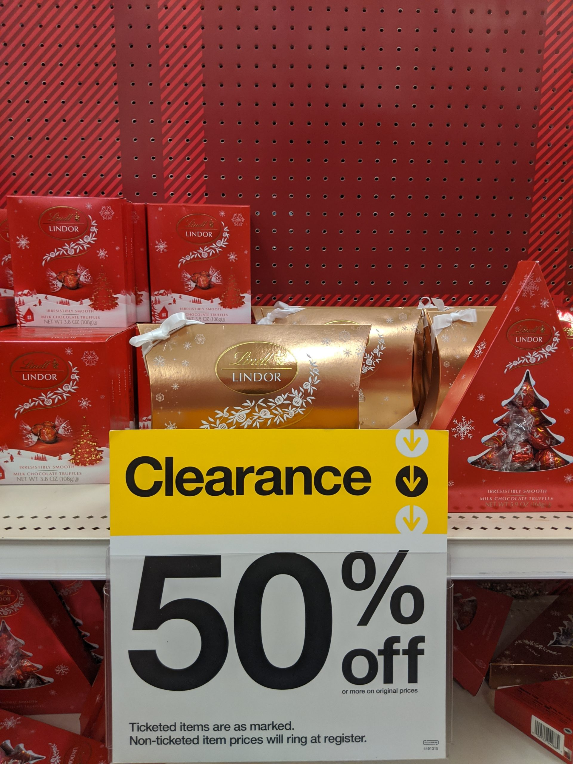 Target Store 50 Off Christmas Candy Coupon Terri
