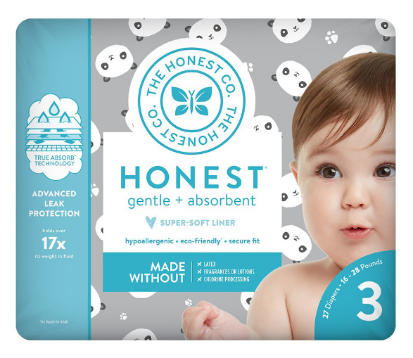 Walgreens.com – Honest Diapers (ALL Sizes), Pandas Only $6.99, Reg $9.99 + Free Shipping!
