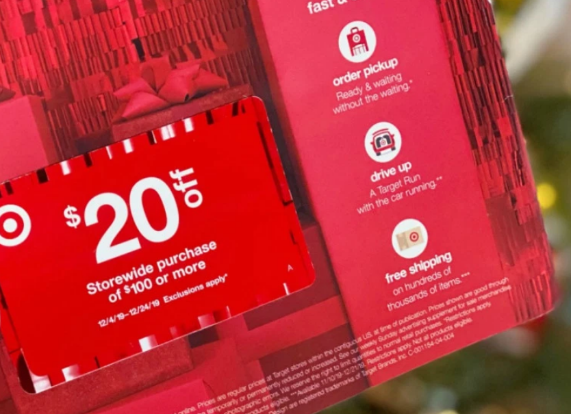 Target – Possible $20 Off $100 Coupon (Check Your Mailbox)