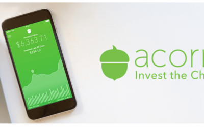 Acorns – Invest Your Spare Change Automatically (Set Aside Money For The Future)‎