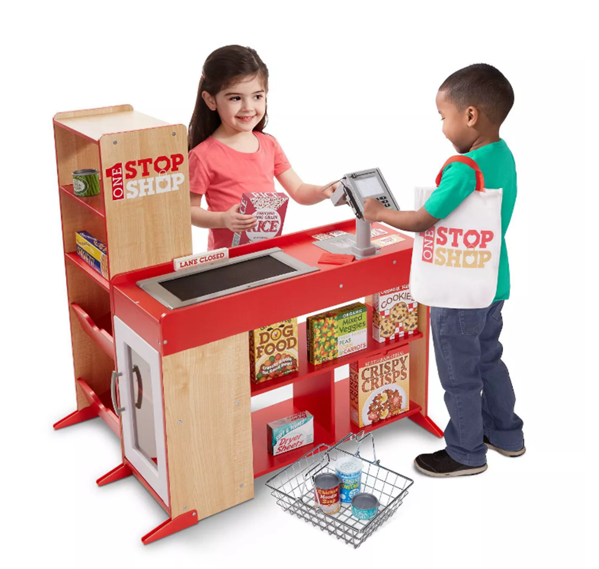 Targetcom – Melissa & Doug Deluxe One Stop Shop 63pc Play Store Set Only $106.00, Reg $179.99 + Free store Pickup!